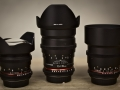 AP Studios Samyang Cine lenses set