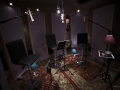 AP Studios Dubbing Recording Set Up with Gobo Panels