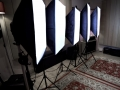 AP Studios Video Lights Soft Boxes 5500 Kelvin