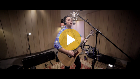 Jake Hallam Disney Medley Live at AP Recording Studios