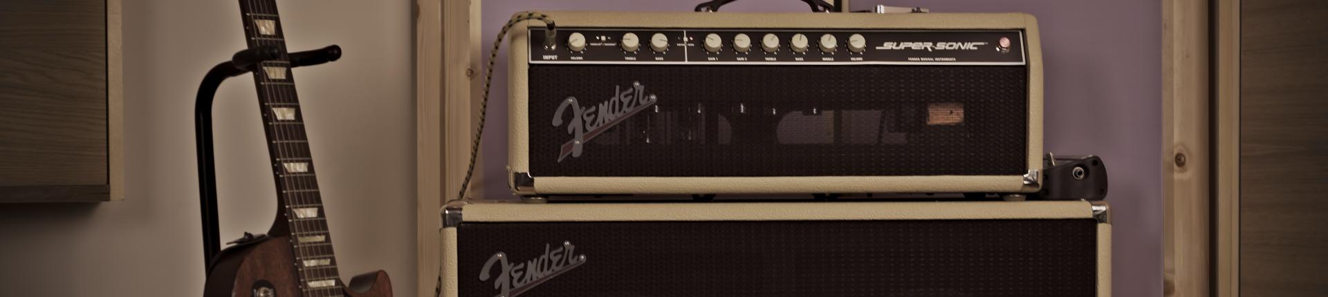 AP Recording studios Dublin - Fender Supersonic Amp