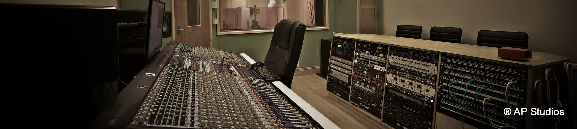 AP Recording Studios Dublin Control Room entrance view