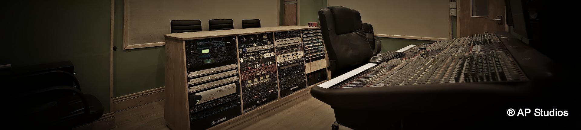 AP Recording Studios Dublin control room
