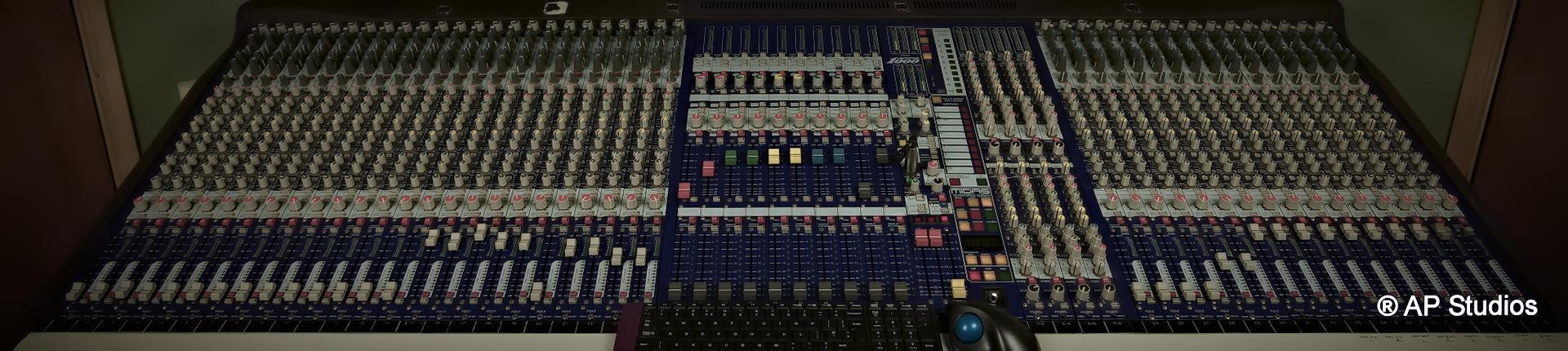 AP Recording Studios Dublin Midas Heritage 1000 Desk